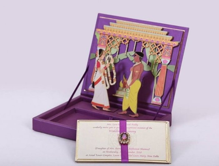 10 Exclusive Indian Wedding Invitation Card Ideas Check Out Now