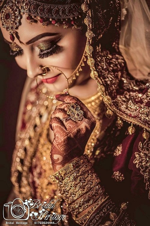Here Are Some Dazzling Indian Bridal Photoshoot Poses f...