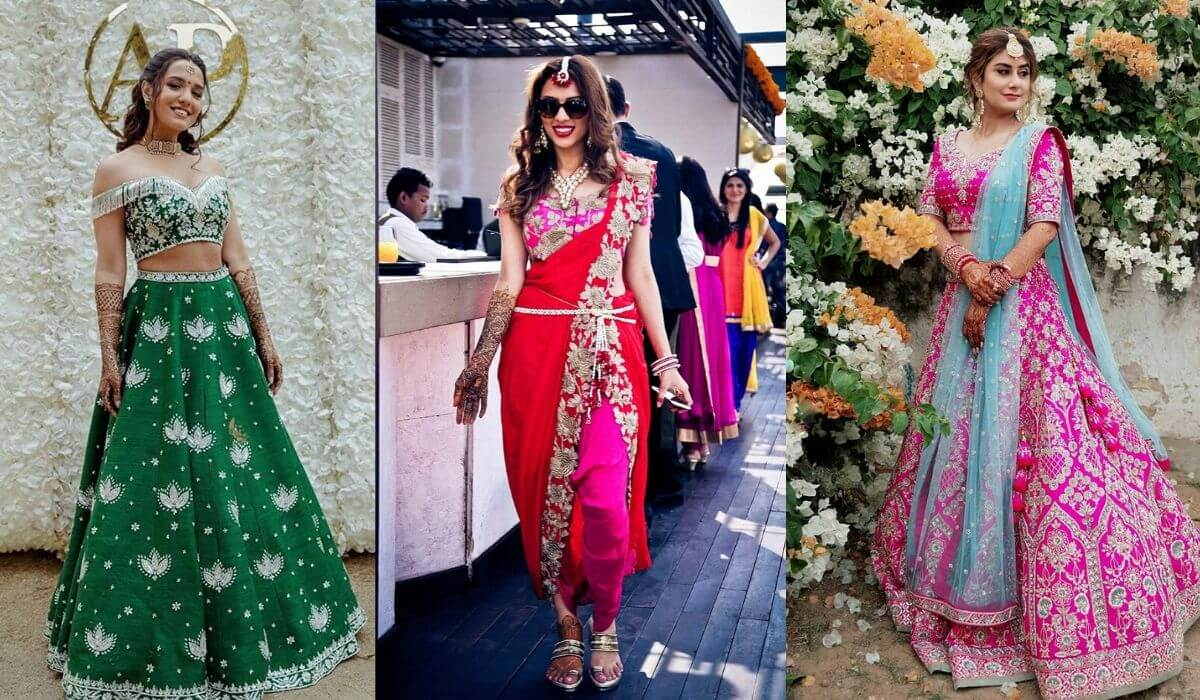 #30+ Trendy Bridal Mehndi Outfits Perfect For Flaunting At Mehendi Ceremony