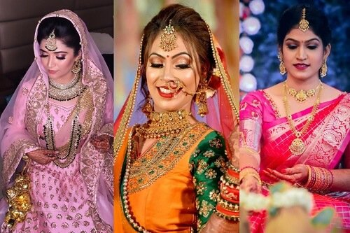 Different Types of Bridal Makeup Looks to Bring Out Your Inner Diva