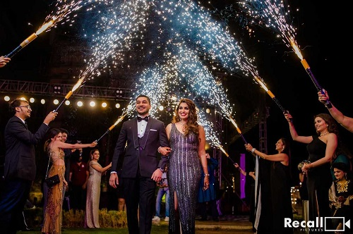 Fabulous Couple Entry Ideas For Reception To Spellbind All Your Wedding Guests!