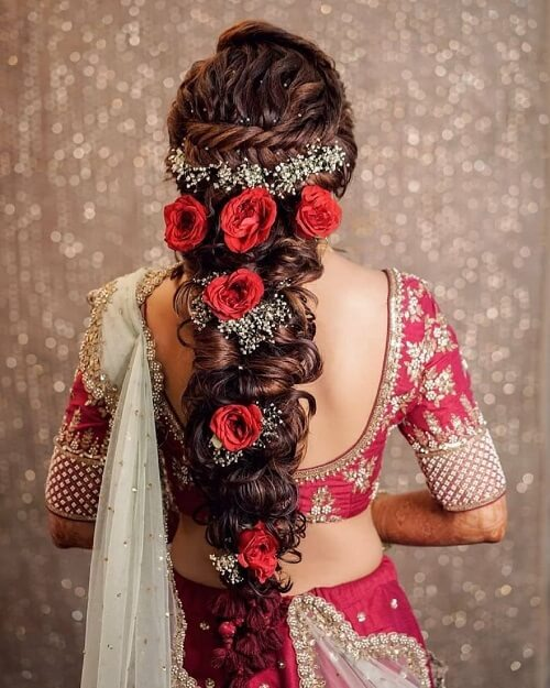 Majestic Floral Bridal Hair Accessories To Make You Loo...