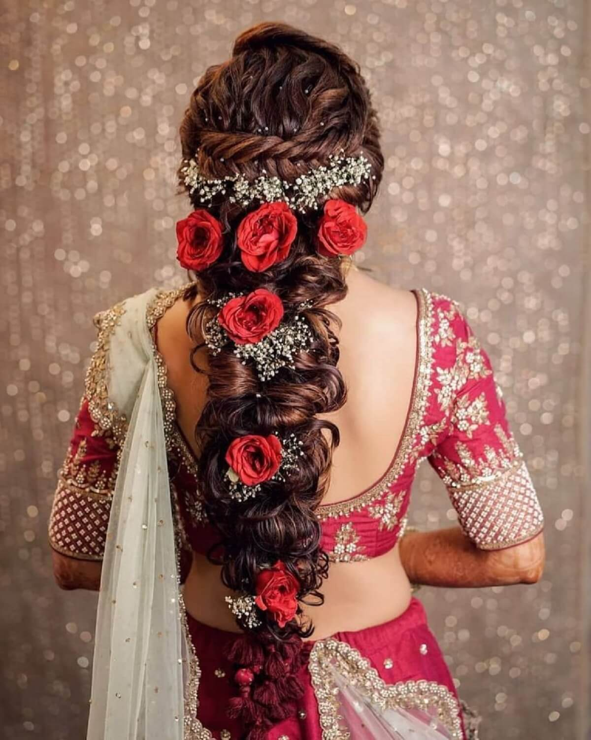 Majestic Floral Bridal Hair Accessories To Make You Look Like A Flowery Queen At Your Wedding!
