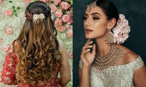 Bridal Bun Vs Open Hairstyle, Which One Is The Best?