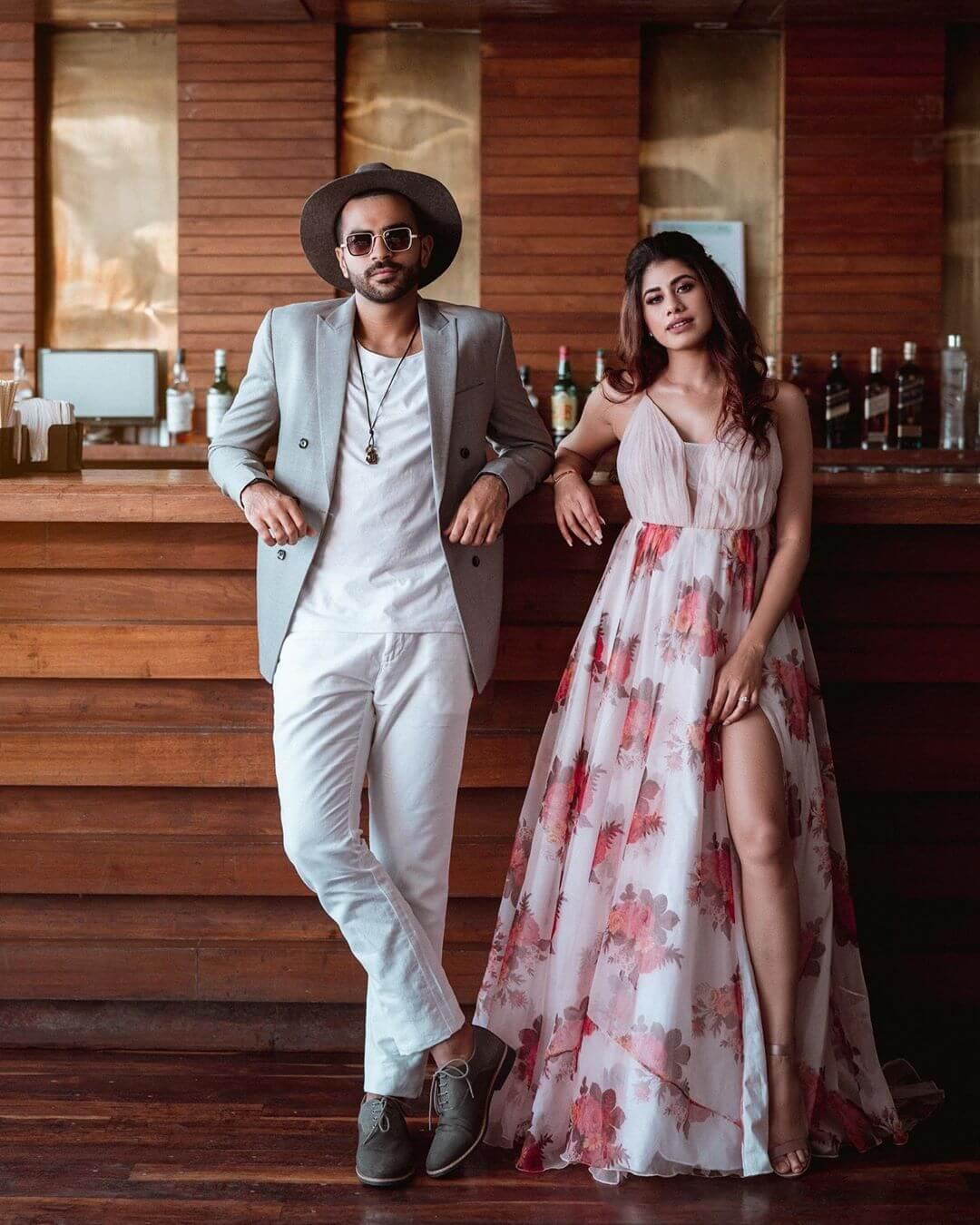 Malvika Sitlani The Popular Beauty Blogger-Actor Ties The Knot With Akhil Aryan!