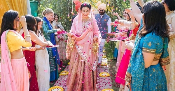 Pink Is Pink! 21+ Pink Bridal Lehengas To Flaunt On Your Wedding