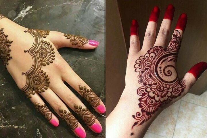 Back Hand Mehndi Designs That You Should Try Out In Qua...