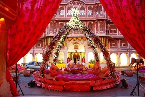 Top 10 Wedding Planning Service Provider Near Marriott Hotel in Jaipur