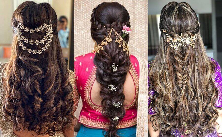 Inspirational Ideas Of Hair Accessory And Jewellery To Drool your Cocktail Or Sangeet In An Intimate Wedding