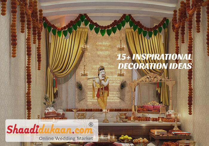 15+ Inspirational Decoration Ideas For Krishna Janmashtami