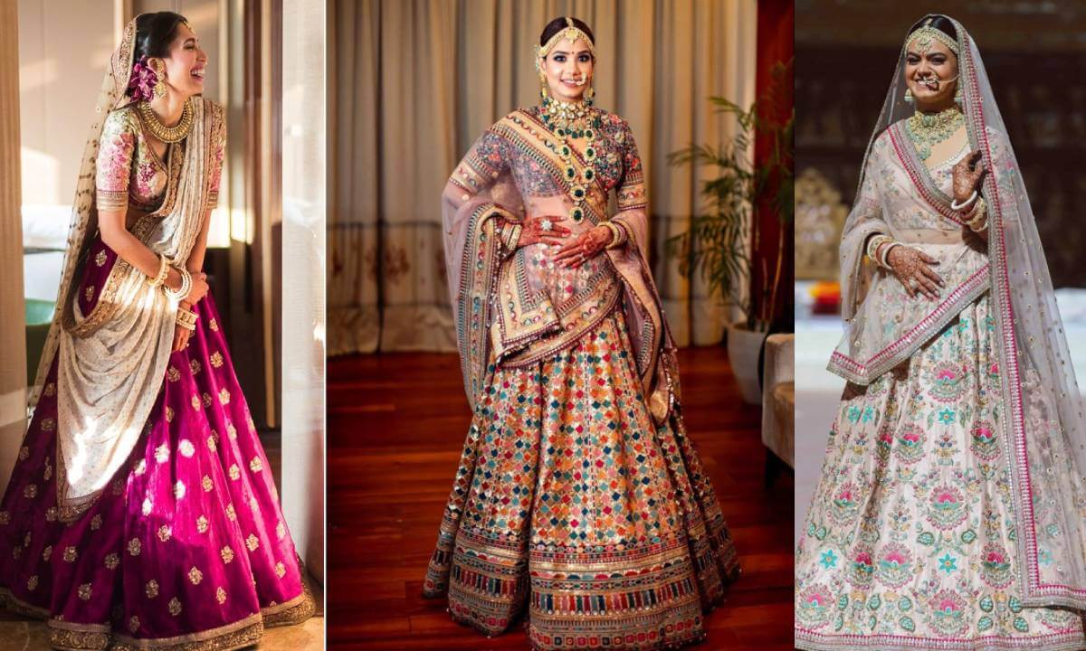30+ Designs of Breathtaking Sabyasachi  Bridal Lehengas