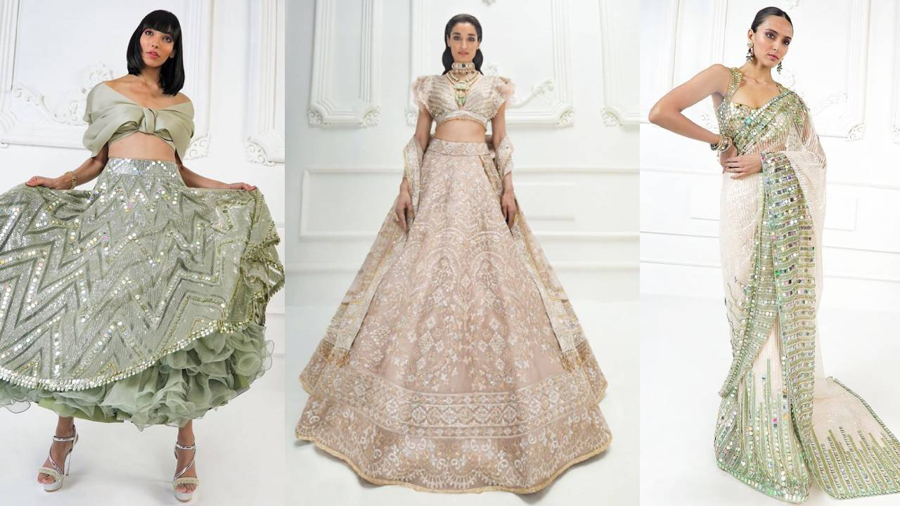 Bridal Lehengas by Manish Malhotra Trending in 2020