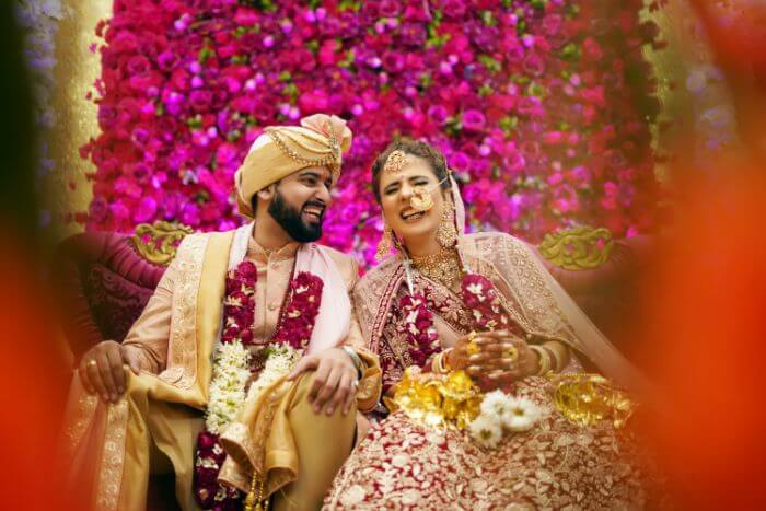 The Glam Wedding of Gaurav And Chetna