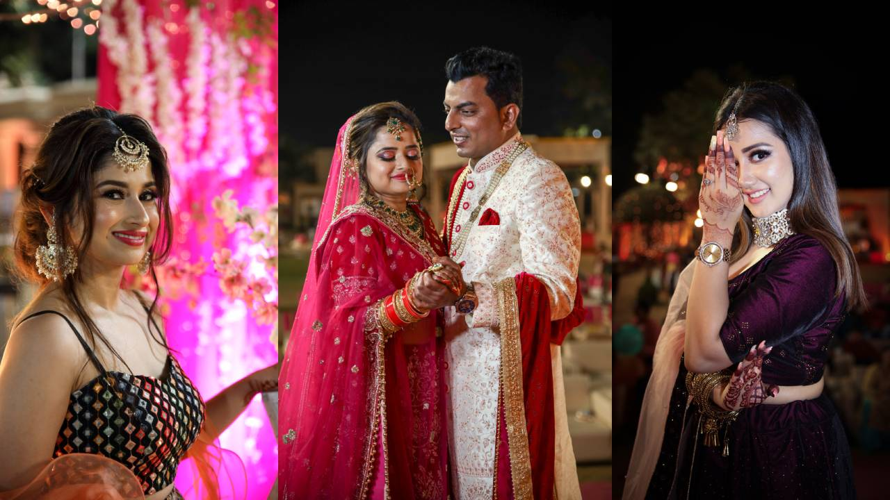 Real Wedding happiness of Sana & Aiyaz Captured The Beauty of Moment