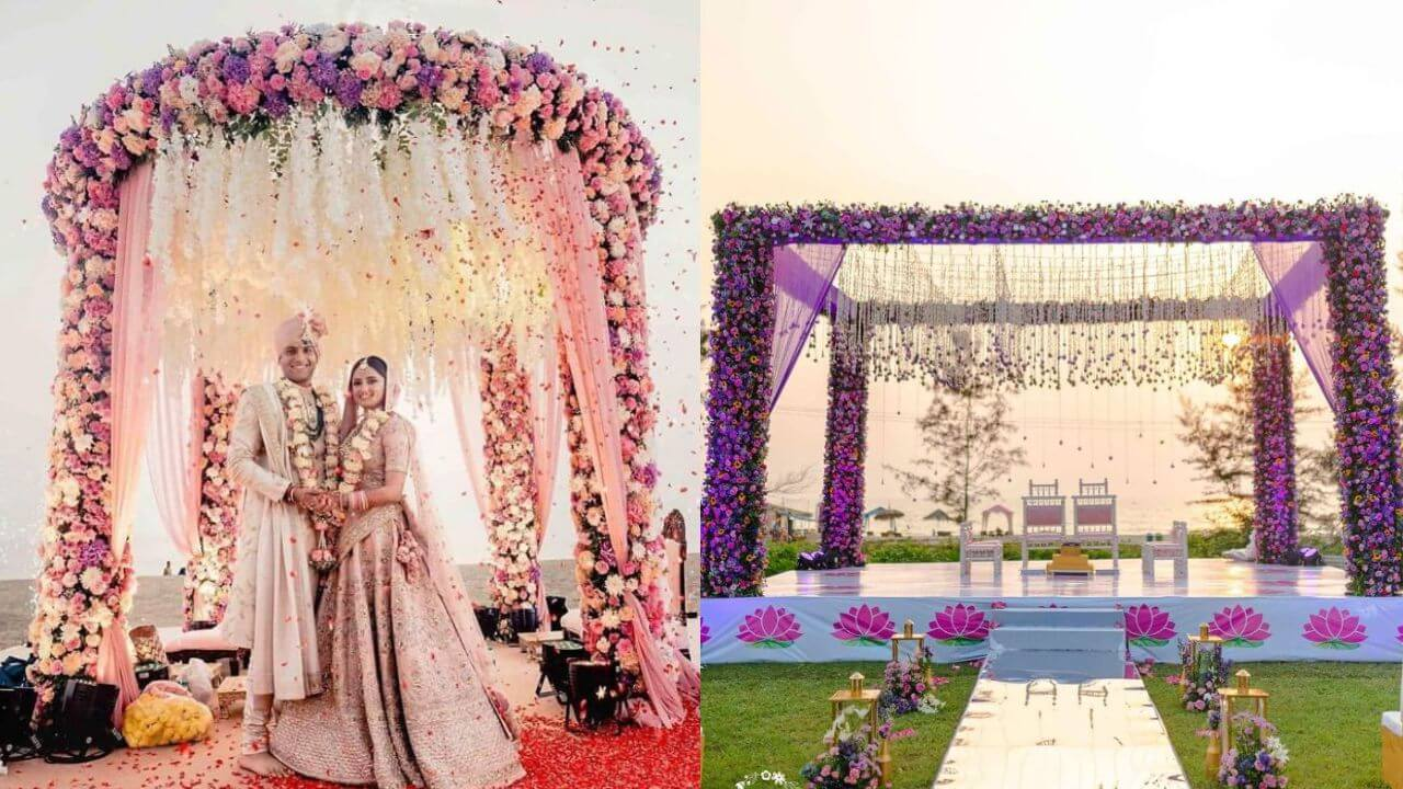 100+ Breathtaking Mandap Decor Ideas We Spotted In Recent Weddings