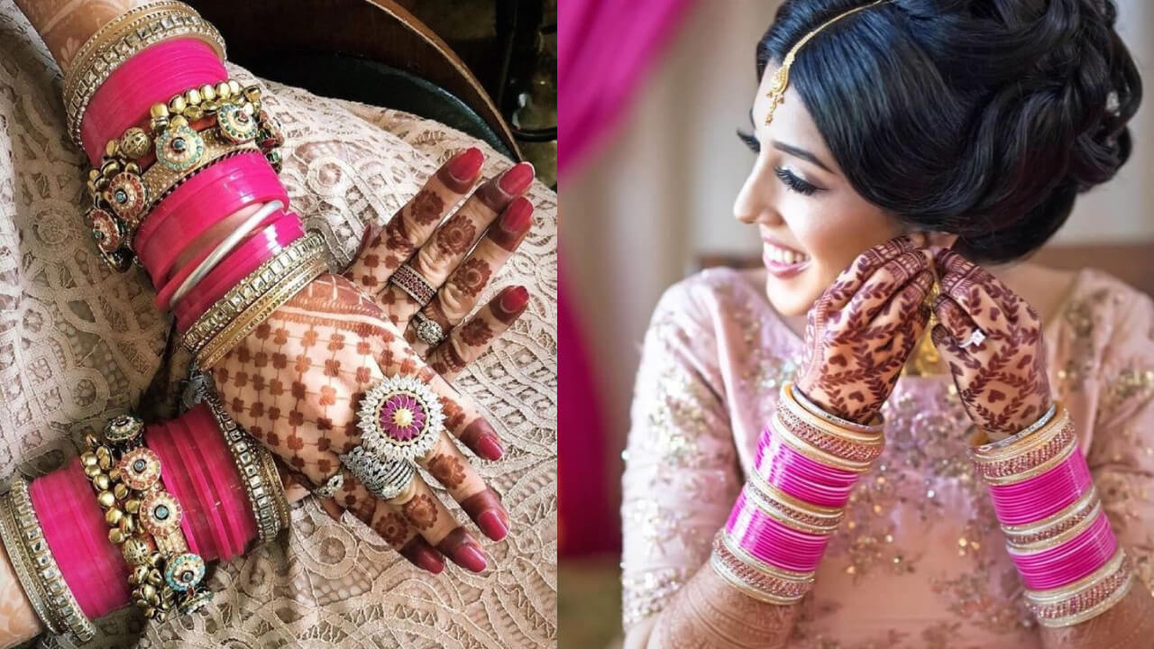21+ Brides Flaunting The Bridal Choodas