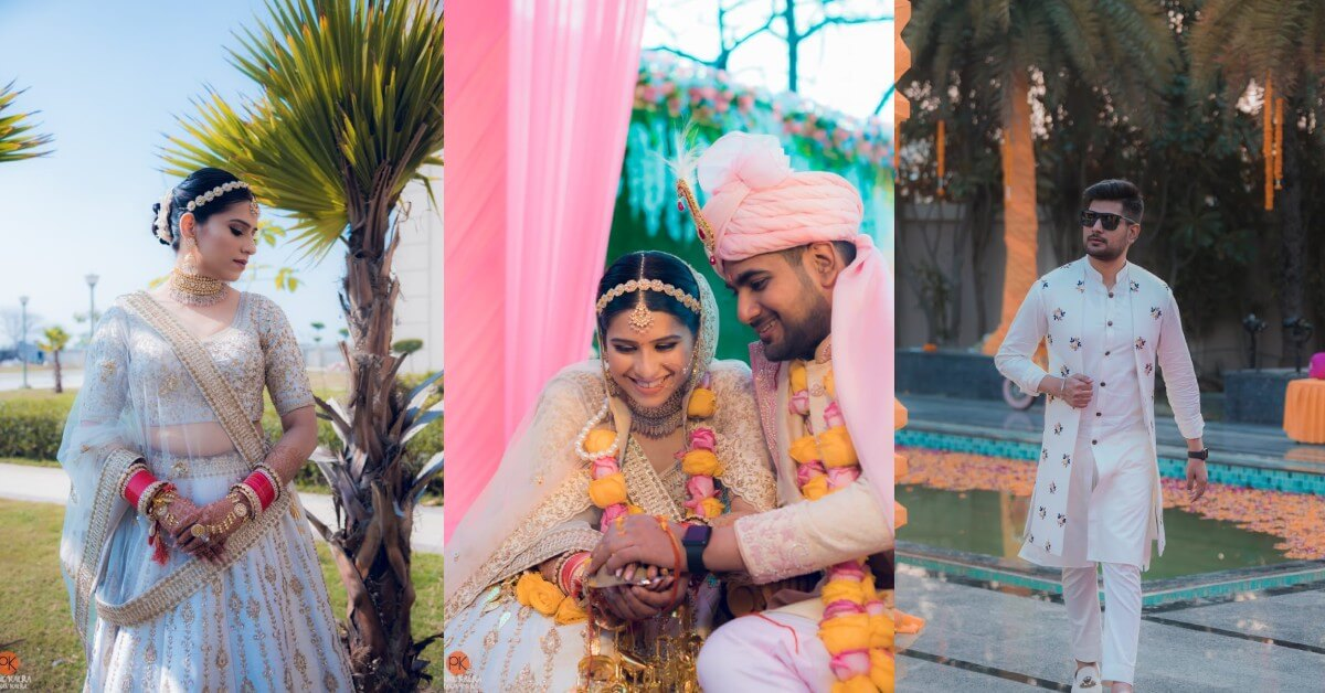 Glamorous Indian Wedding Adorned With Grace - Shobita W...