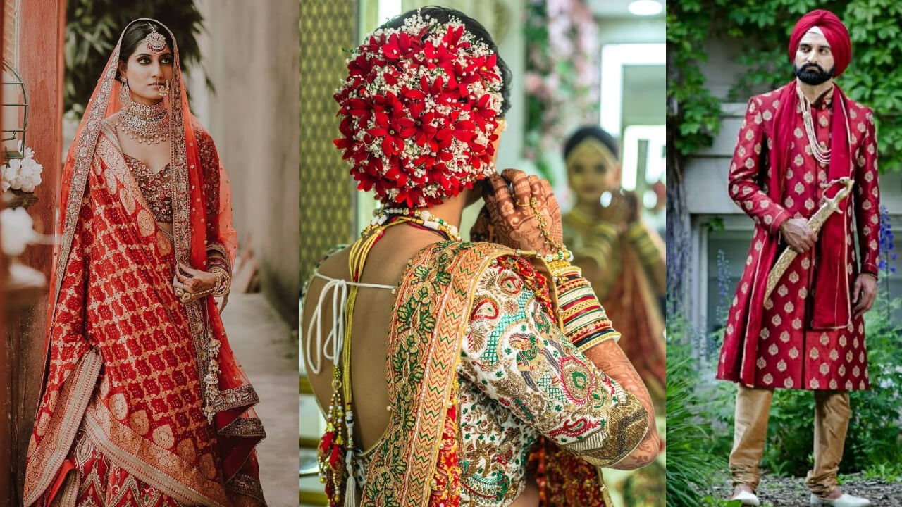 Mesmerize Your Wedding Day With Beauty Of Red - Check How!