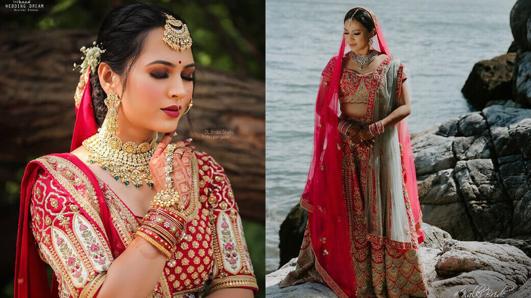 Impressive Bridal Lehengas For The Brides With Love For Pink