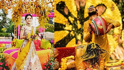 15+ Trending Haldi Decoration Ideas