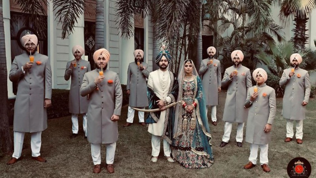 Sneak A Peek To Navpreet Singh Rehal and Kulwinder's Punjabi Wedding