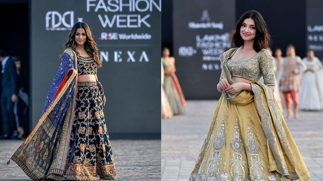 Wedding Outfits From Lakme Fashion Week 2021 - An Inspi...
