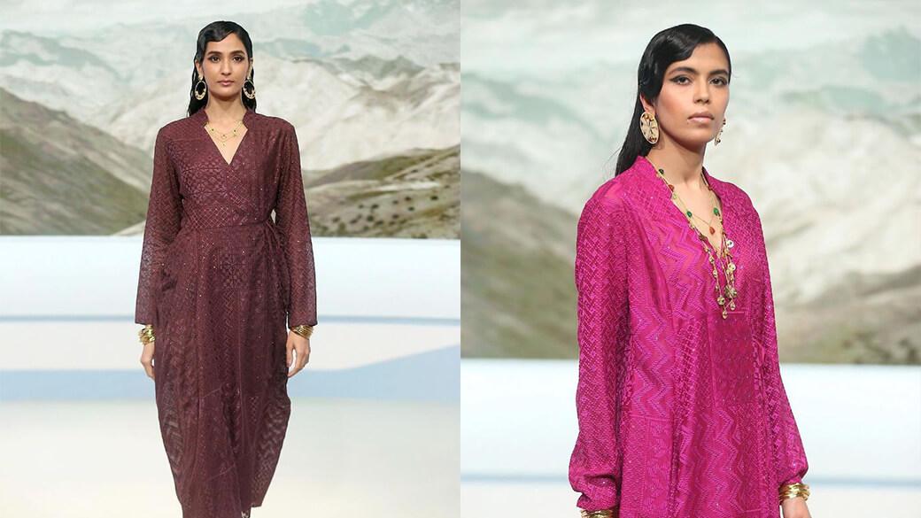 FDCI Lakme Fashion Week, Payal Pratap Shows Off Her Retro Lavishness.