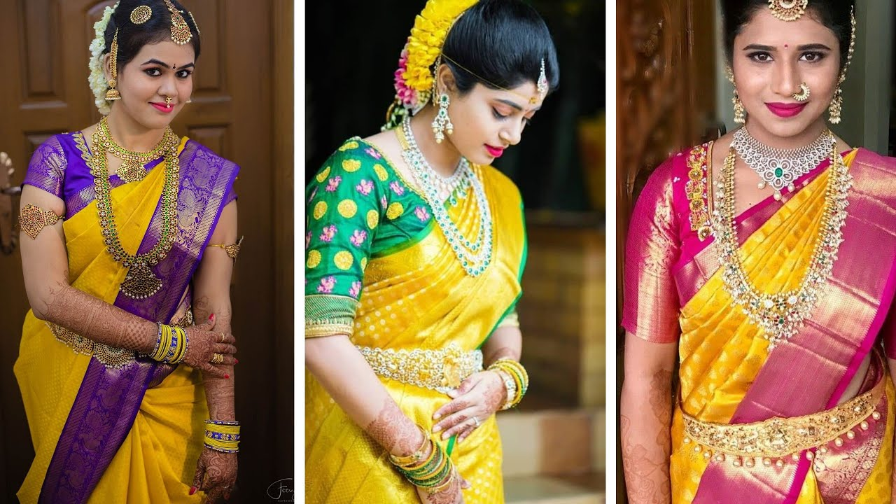 The Sunshine Beauty Of Yellow Sarees That You Will Sure...