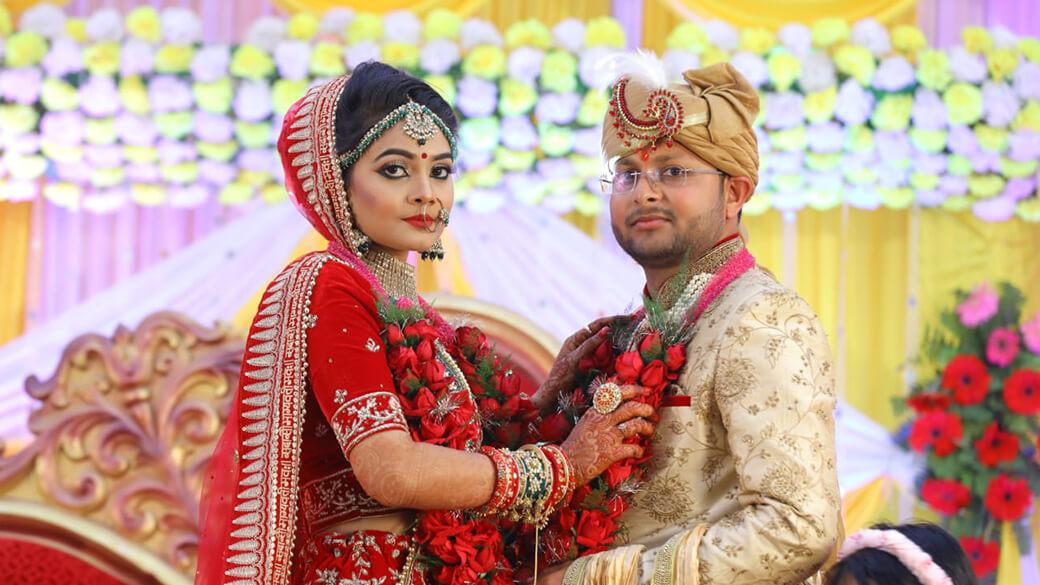 Real Wedding Of  Nishant & Mahima Captured By Pavitra Bandhan