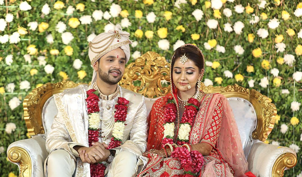 Take A glance At Ayushri And Saurabh's Colorful Wedding