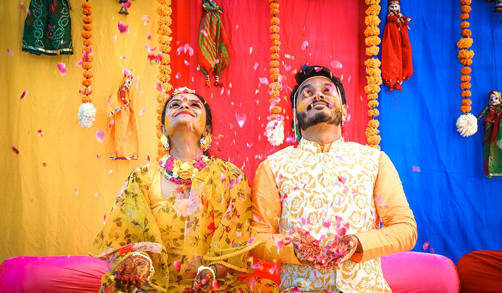 A Beautiful Indian Wedding With Pin-Worthy Arrangement