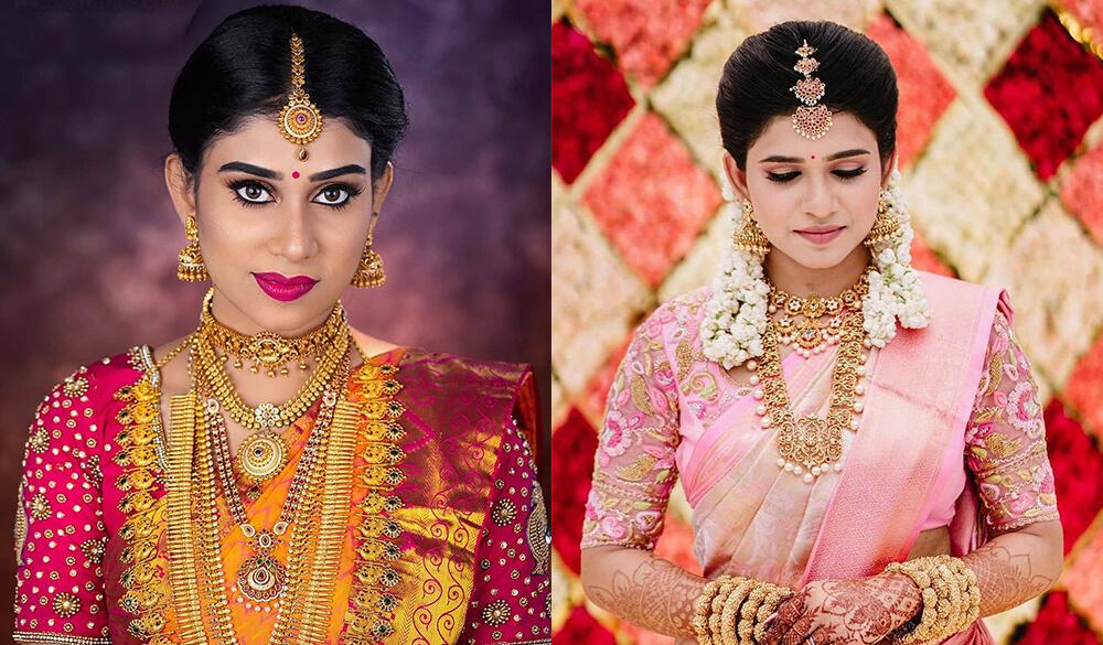 A Motley of Managa Malai Designs - The Spark Of South Indian Brides!