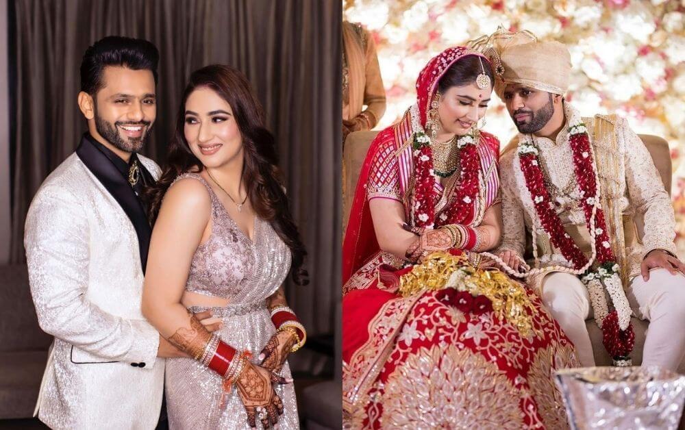 #JustMarried - Rahul Vaidya & Disha Parmar