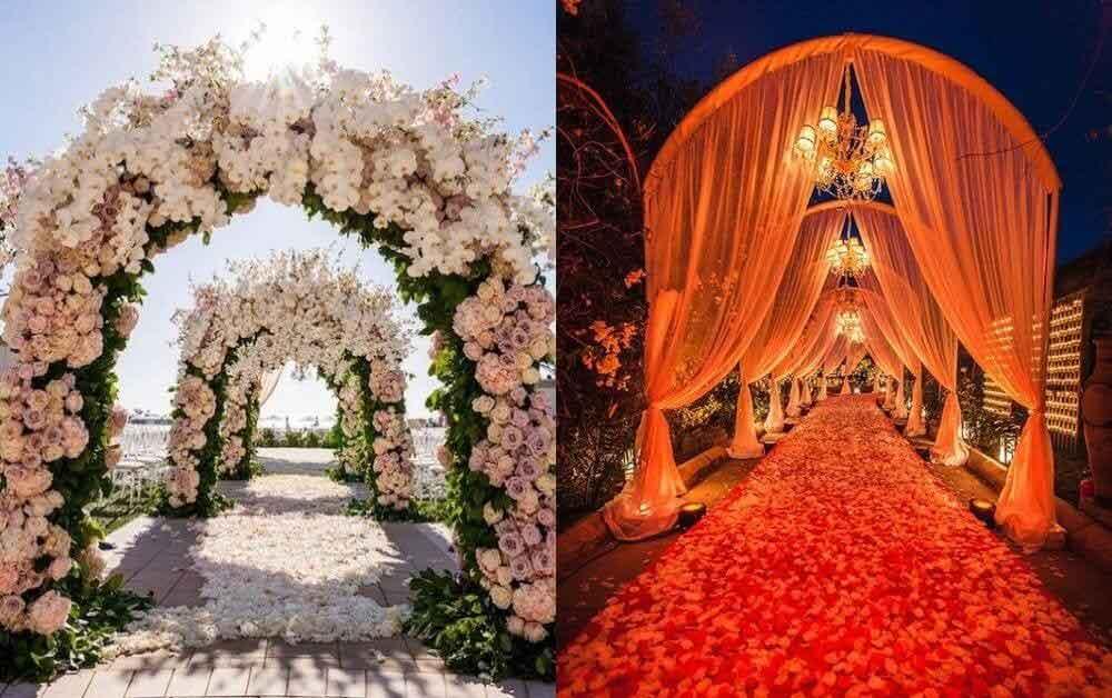 Exclusive Wedding Pathway Décor Ideas For Intimate Wedding